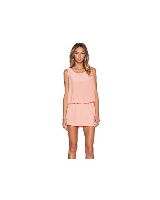 ADDISON | Женское Персиковое Платье Crosley