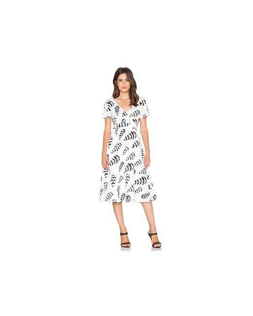 Sam&Lavi | Женское Белое Платье Lola