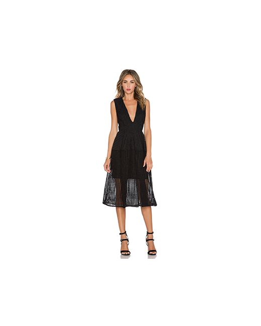 Nicholas | Женское Чёрное Бальное Платье С V-Образным Вырезом
