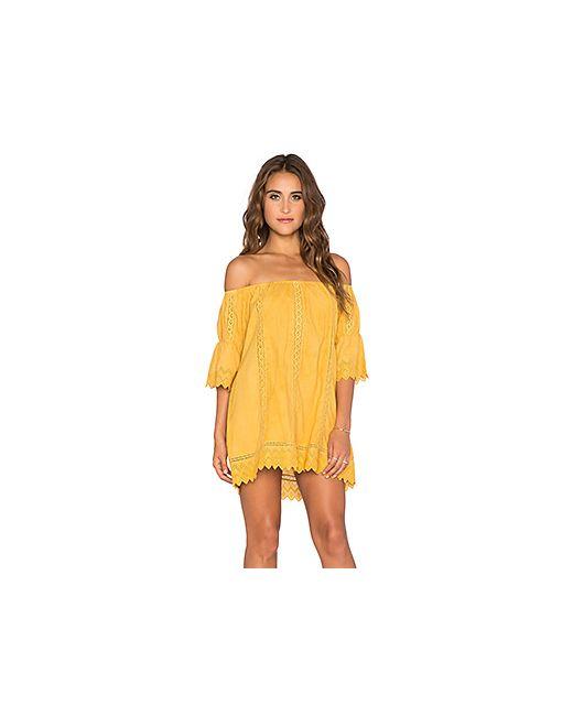 Tularosa | Женское Жёлтое Платье Isabella