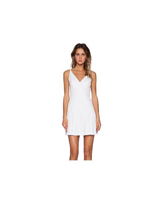 Black Halo | Женское Белое Платье Alayna Mini