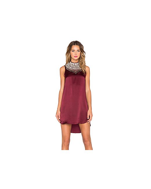 Haute Hippie | Женское Вишня Платье