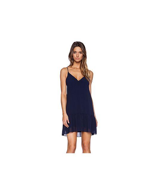 Rory Beca | Женское Синее Платье Danica