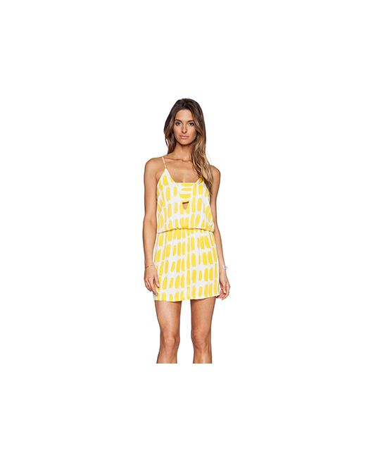 Karina Grimaldi | Женское Жёлтое Платье Matilda