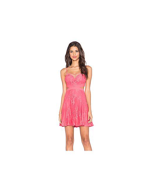 Style Stalker | Женское Розовое Платье Katara