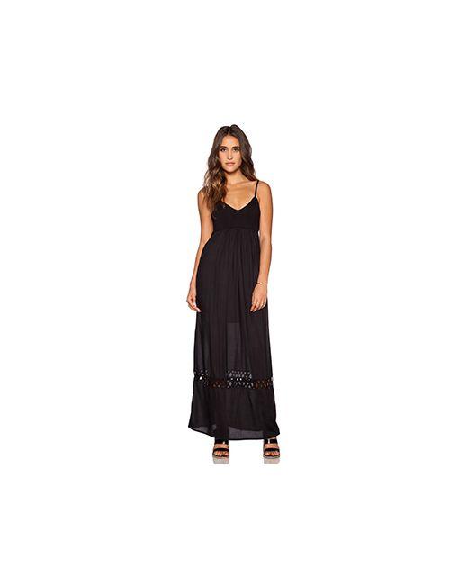 Rvca | Женское Чёрное Платье Clever Girl