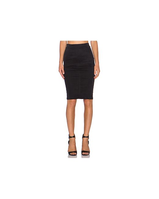 YFB CLOTHING | Женская Чёрная Юбка Shana