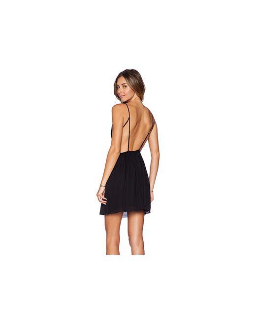 Rory Beca | Женское Чёрное Платье Marlen