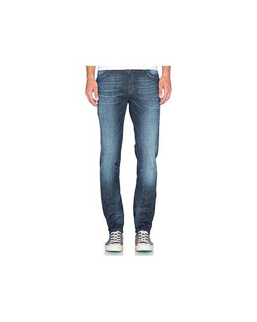 Nudie Jeans Co | Мужские None Узкие Джинсы Thin Finn Nudie Jeans