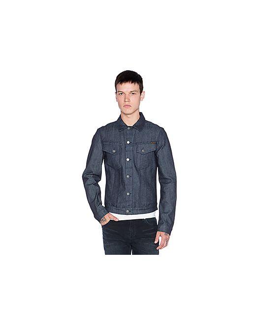 Nudie Jeans Co | Мужская Синяя Куртка Billy Nudie Jeans