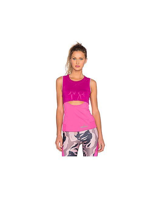 Adidas By Stella  Mccartney | Женский Фуксия Топ Climacool Run Perf Adidas By Stella
