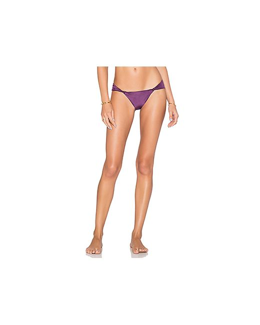 Vix Swimwear | Женский Фиолетовый Низ Бикини Matelasse