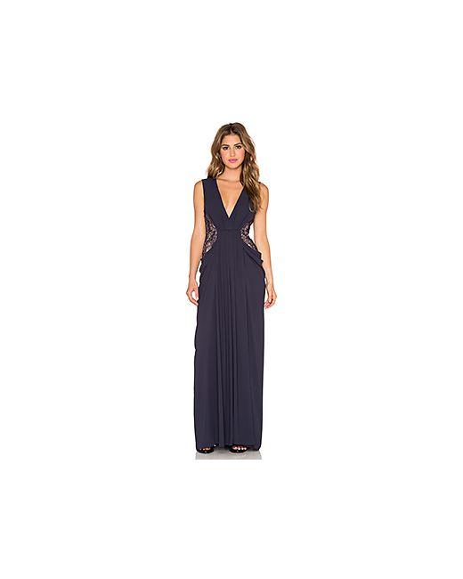 BCBGMAXAZRIA | Женское Синее Вечернее Платье Kamara