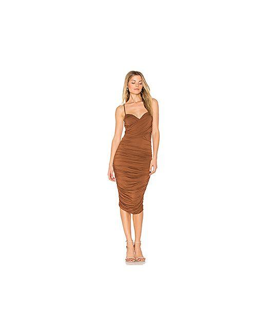 Bailey 44 | Женское Коричневое Платье Cumbia