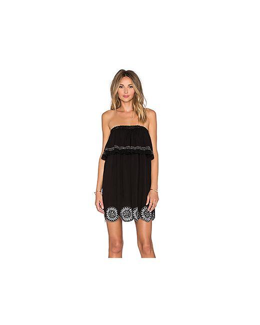 Tularosa | Женское Чёрное Платье Desert Moon