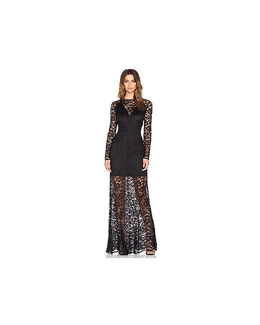 Olcay Gulsen | Женское Чёрное Платье Dazzling