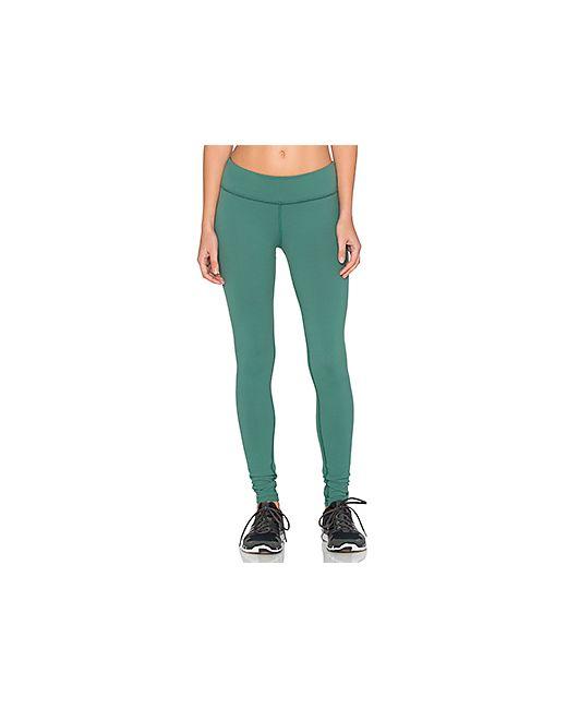 Beyond Yoga | Женские Зелёные Длинные Леггнсы Essential