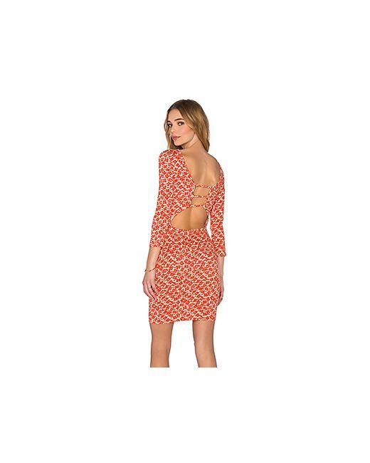 Clayton | Женские Красные Мини Платье Bobbi