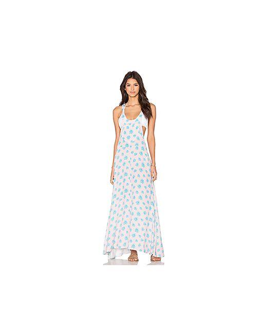 Tori Praver Swimwear | Женское Розовое Платье Bonita
