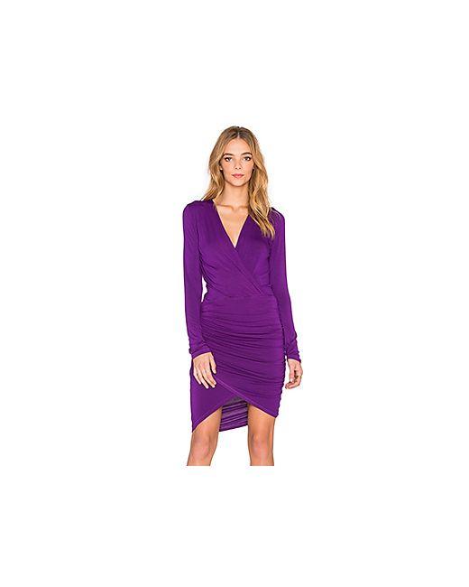 Young Fabulous & Broke | Женское Фиолетовое Платье Babe