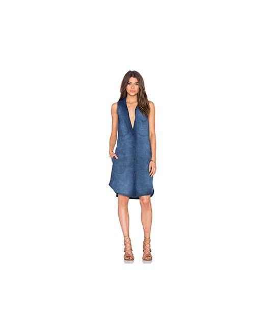 Bella Dahl | Женское Синий Easy Shirt Dress