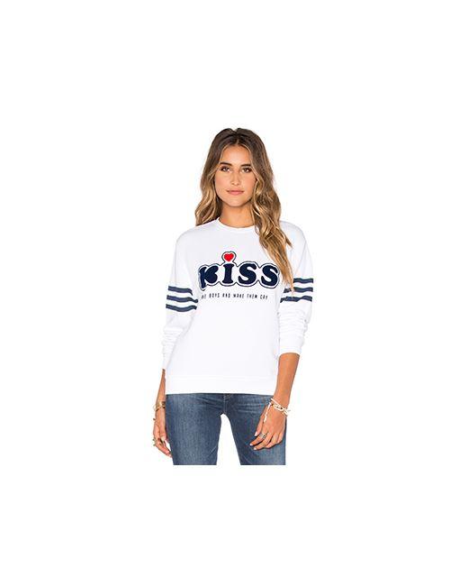 Zoe Karssen   Белые Свитшот Kiss