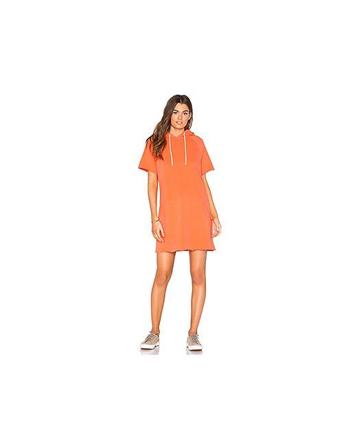 Cotton Citizen | Оранжевый The Milan Cut Off Dress