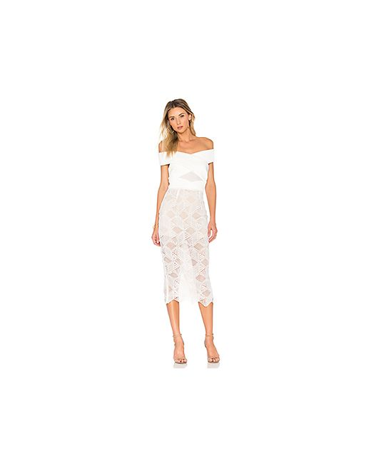 ASILIO | Женское Белое Платье The Nadia