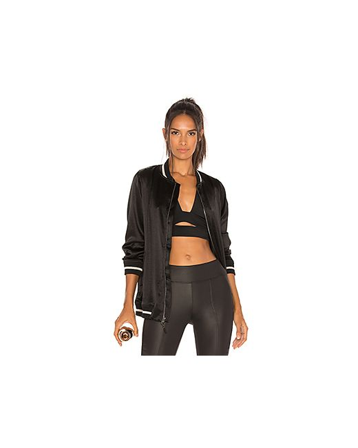 Koral | Женская Чёрная Куртка Бомбер Base