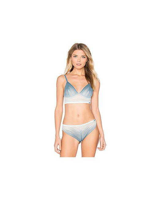 Calvin Klein | Женское Синий Ombre Triangle Bra Underwear