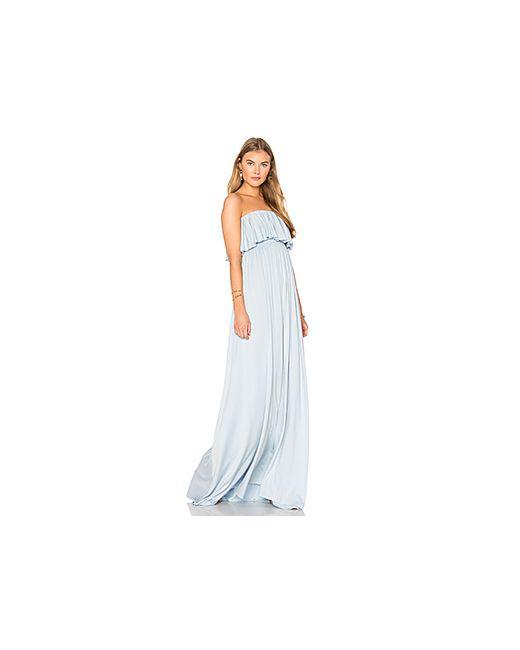 Rachel Pally | Женское Голубое Платье Sienna