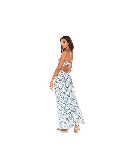 Tiare Hawaii | Женский Лаванда Макси Платье Kalani
