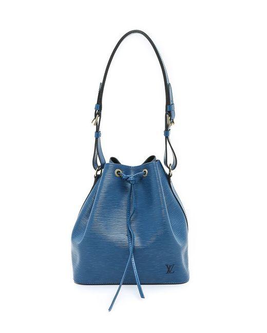 What Goes Around Comes Around | Женская Голуба Миниатюрная Сумка Louis Vuitton Epi Noe