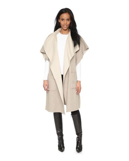 Tibi | Женское Овес Двустороннее Шерстяное Пальто