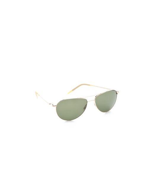 Oliver Peoples Eyewear | Женские Коричневые Солнцезащитные Очки Benedict