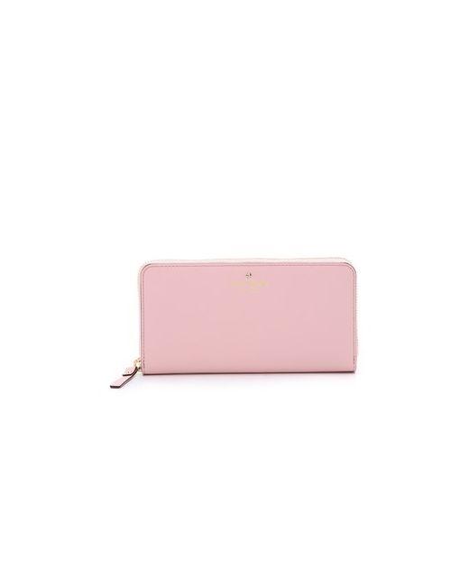 Kate Spade New York   Женский Розовый Кошелек Lacey С Круговой Молнией