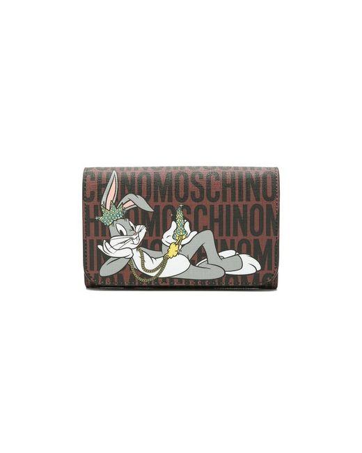 Moschino   Женский Многоцветный Клатч Bugs