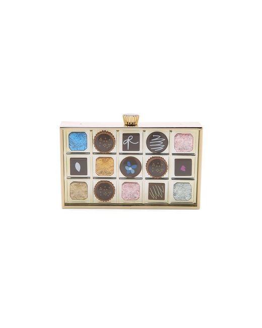 Kate Spade New York   Женский Многоцветный Клатч В Виде Коробки Шоколада