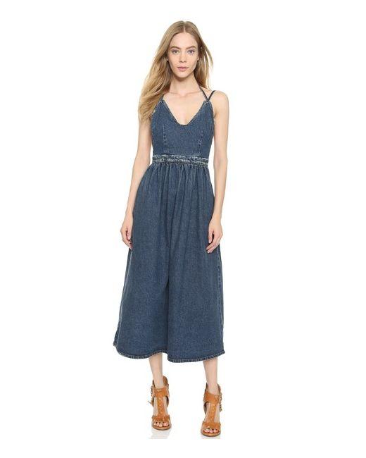 Rachel Comey | Женское Голубое Платье Palma