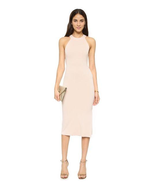Alice + Olivia | Женское Золотое Облегающее Платье Air Lumi