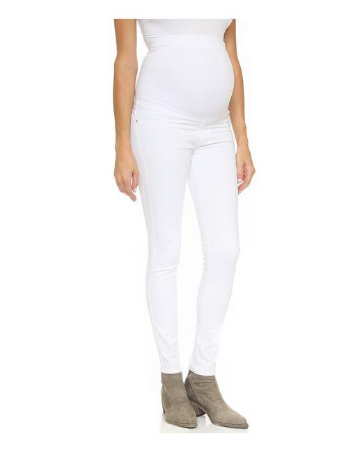 James Jeans | Женский Белый Джинсы-Скинни Для Беременных Twiggy