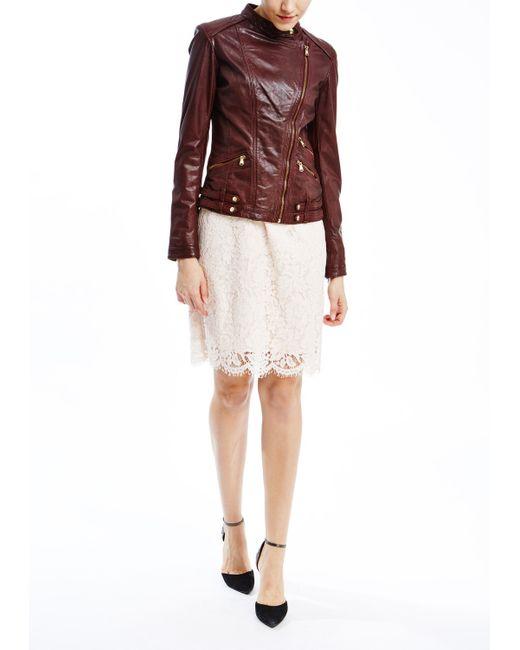 La Reine Blanche   Женская Куртка Кожаная