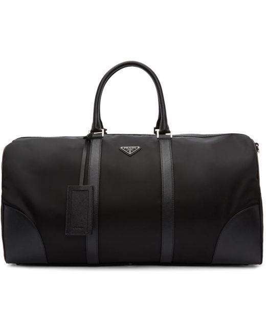 Prada   Чёрный Nylon Duffle Bag