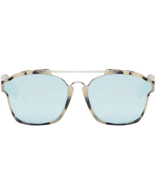 Dior | A4 Havana Mauve Gree Brown Tortoiseshell Abstract Sunglasses