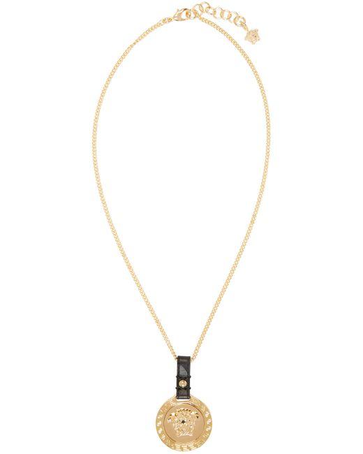 Versace | Золотой Gold Medusa Pendant Necklace