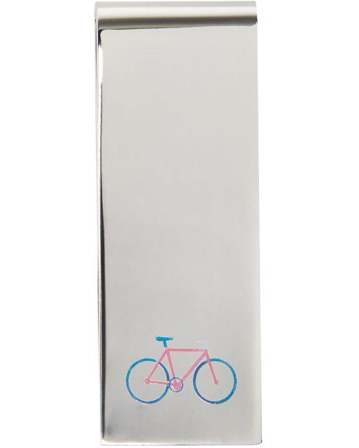 Paul Smith | Серебристый Silver Bicycle Money Clip