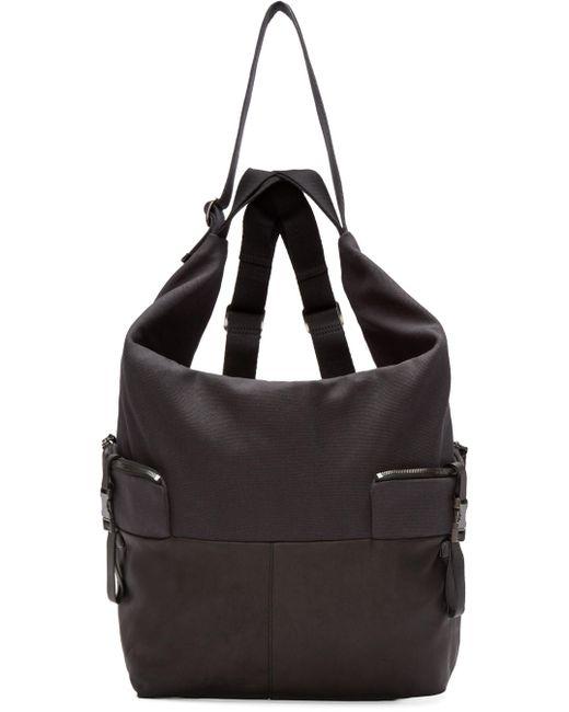 C te and Ciel | Чёрный Black Medium Ganges Alias Backpack