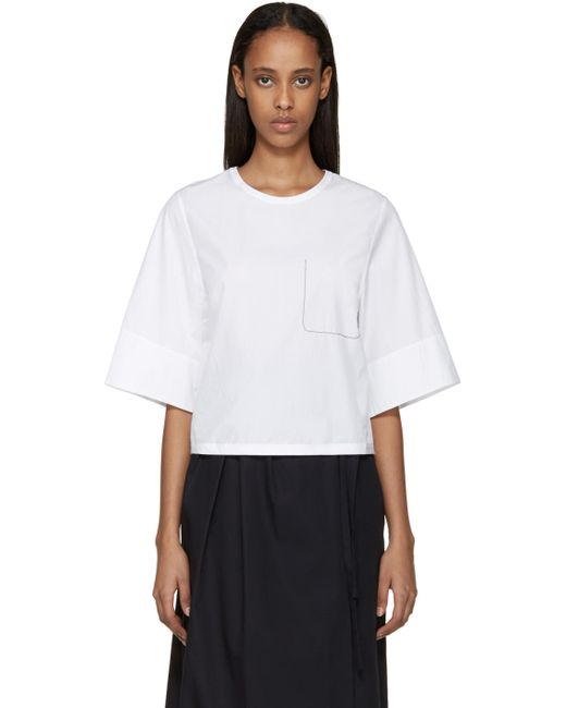 3.1 Phillip Lim | Белый Ghost Pocket Top