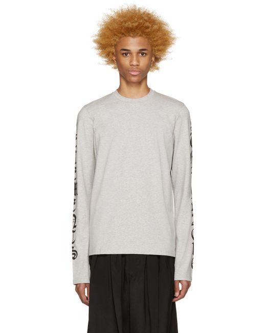 VETEMENTS | Серый Logo Sleeve T-Shirt