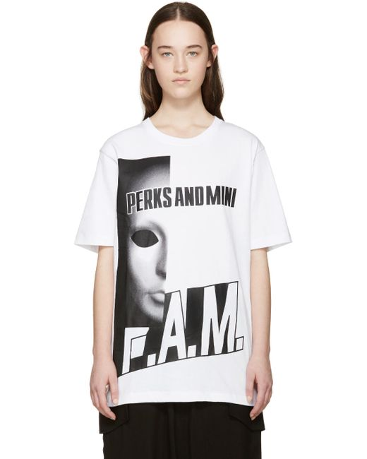 Perks And Mini | Белый Keep Them Guessing T-Shirt
